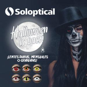 Este Halloween luce unos ojos de miedo con lentillas de fantasía, gracias al outlet de ofertas de Solóptical.