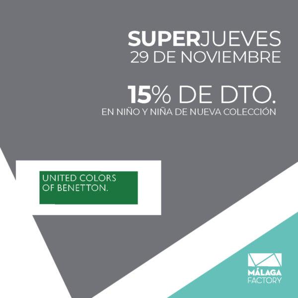 SuperJueves Benetton