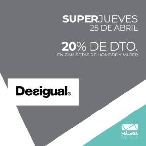 Superjueves Desigual
