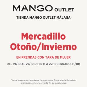 ¡¡Vuelve el mercadillo de taras de otoño con las mejores ofertas a Mango Outlet!!