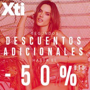 ¡Encuentra hasta un -50% en los segundos descuentos adicionales de ofertas en Xti Store!