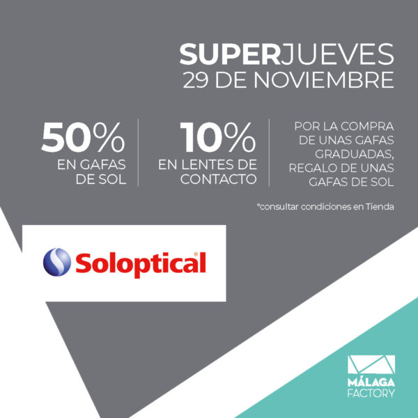 SuperJueves Soloptical