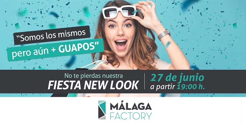 No te pierdas la fiesta del nuevo málaga factory el jueves 29 de junio a las 19:00