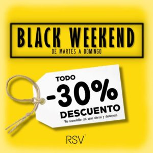 ¡30% de descuento en el Black Weekend de RSV!