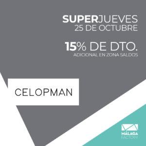 15% DE DTO. ADICIONAL EN ZONAS SALDOS