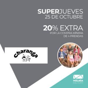 20% EXTRA EN TODO POR LA COMPRA DE MÍNIMO 4 PRENDAS