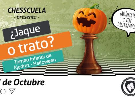 Participa en el torneo infantil de ajedrez de Málaga Factory y Chesscuela el próximo 27 de octubre