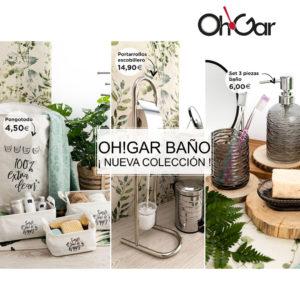 ¡Nueva colección de baño en Tiendas Oh Gar!