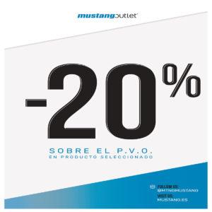 ¡20% de dto. en las deportivas de Mustang!