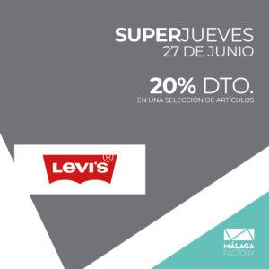 ¡20% de descuento en una selección de artículos en Levi