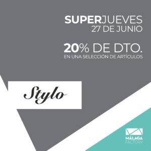 ¡20% de descuento en una selección de artículos en Stylo!