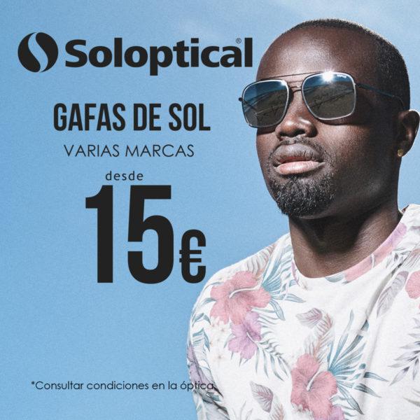 Gafas Sol Soloptical