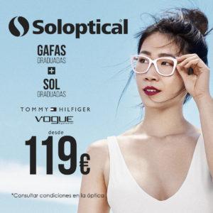 ¡Gafas graduadas + sol graduadas Tommy Hilfiger desde 119€!