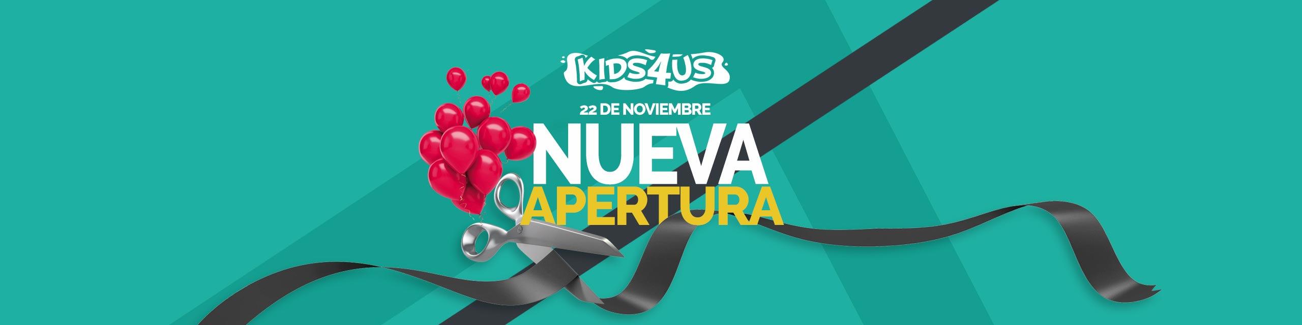 Slider Apertura kids4us