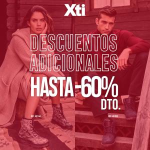 XTI: DESCUENTOS ADICIONALES DEL 60%