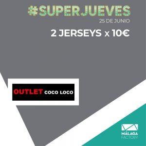 2 JERSEYS POR 10€