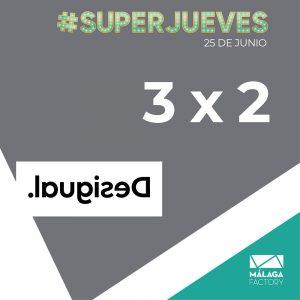 3x2 en Desigual