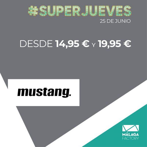 Oferta Superjueves Málaga Factory