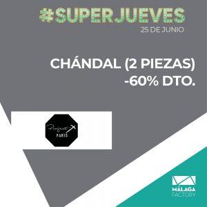 CHÁNDAL (2 PIEZAS) -60% DTO.