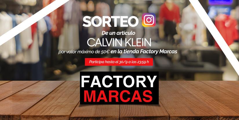 Sorteo Clavin Klein Málaga Factory