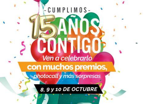 Aniversario Málaga Factory 15 años Contigo