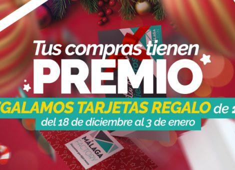 Tus compras tienen premio - Málaga Factory